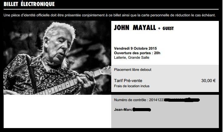 Les concerts : qui va voir quoi ou et quand ? Et puis aussi... avec qui ? Mayall11