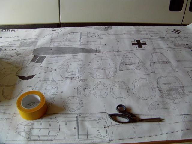 Construction du Junker 87  Stuka type B pour le Musée Imag0021