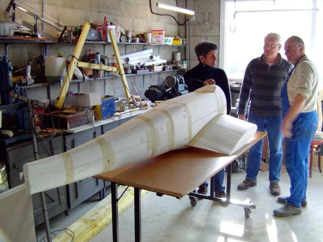 Construction du Junker 87  Stuka type B pour le Musée Imag0085