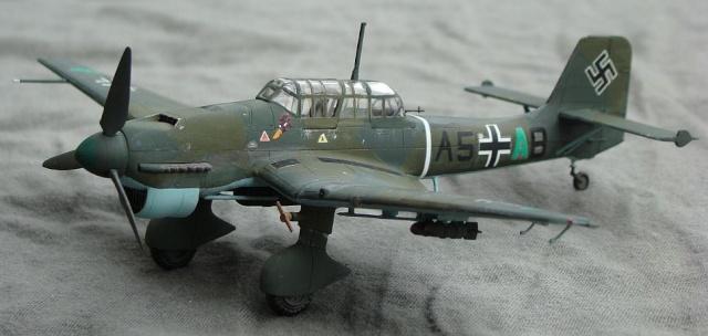 Construction du Junker 87  Stuka type B pour le Musée Junker10