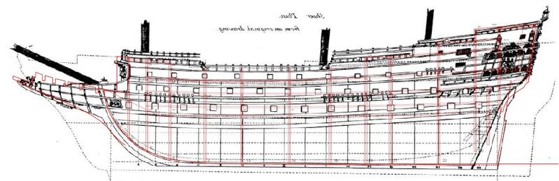 Sovereign of the Seas  Compar12