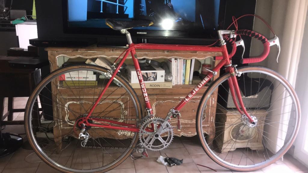 Vélo course Lejeune rouge  28329c10