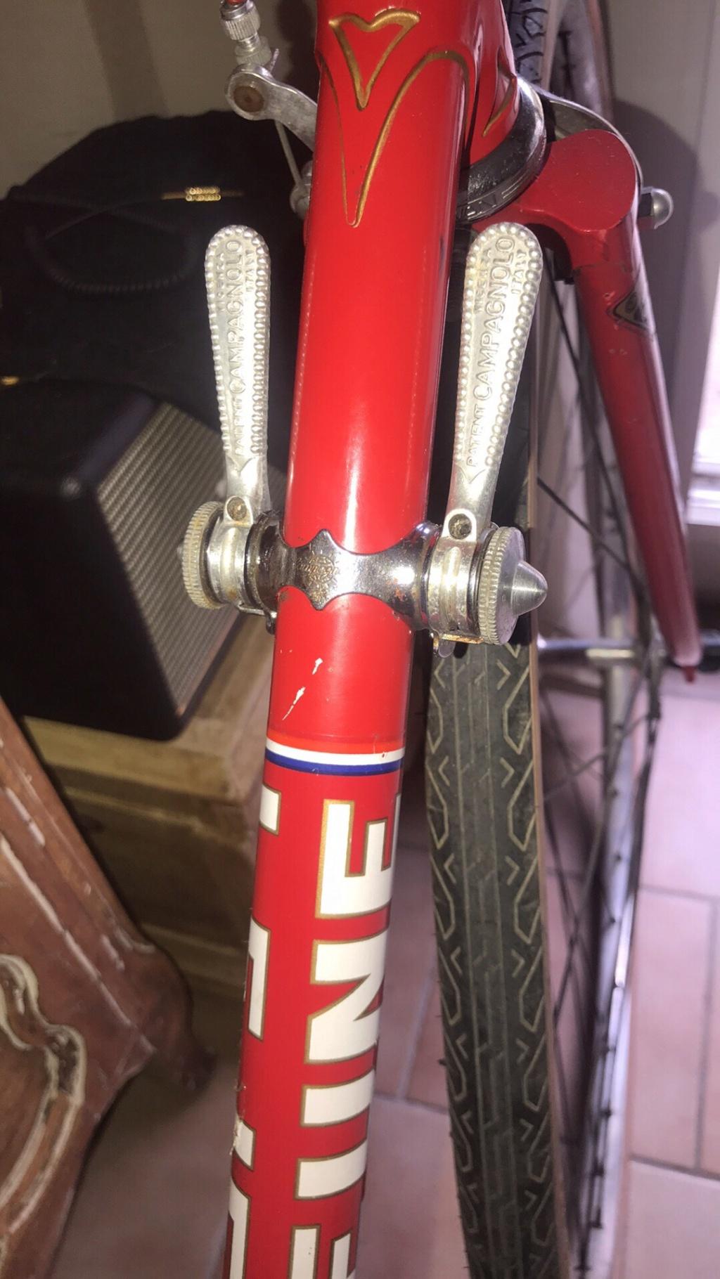 Vélo course Lejeune rouge  D9289610