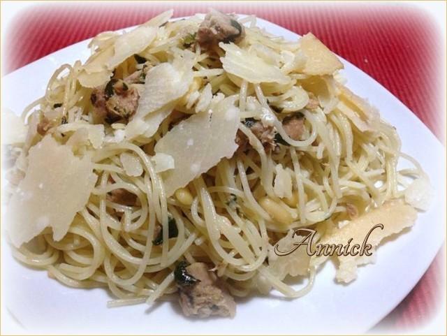 Spaghetti au thon Tyguci10