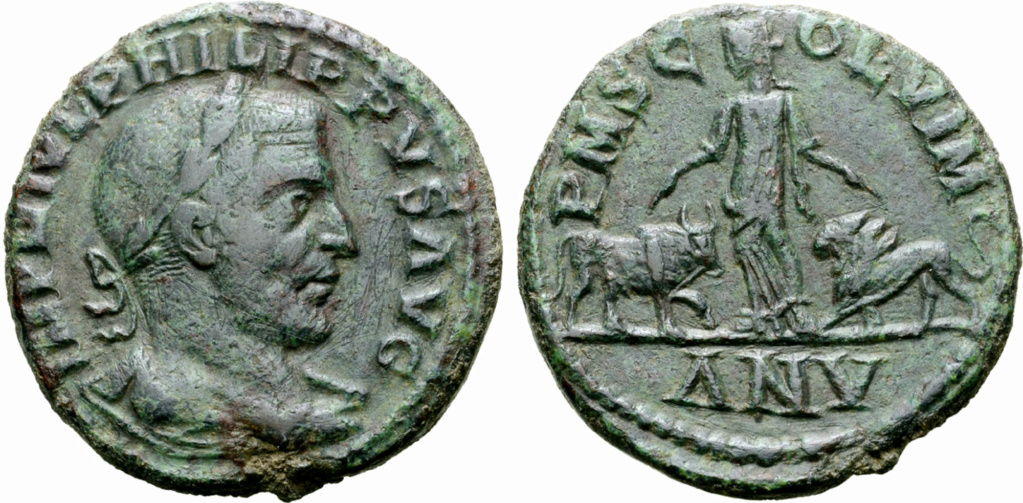 Sesterce de Philippe 1er 16095_10