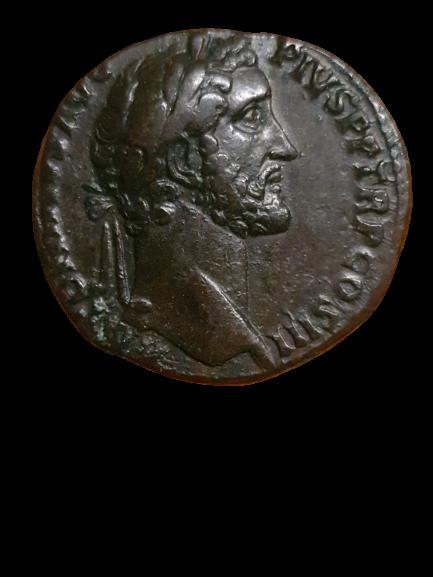 Identification sesterce d'Antonin Pictur33