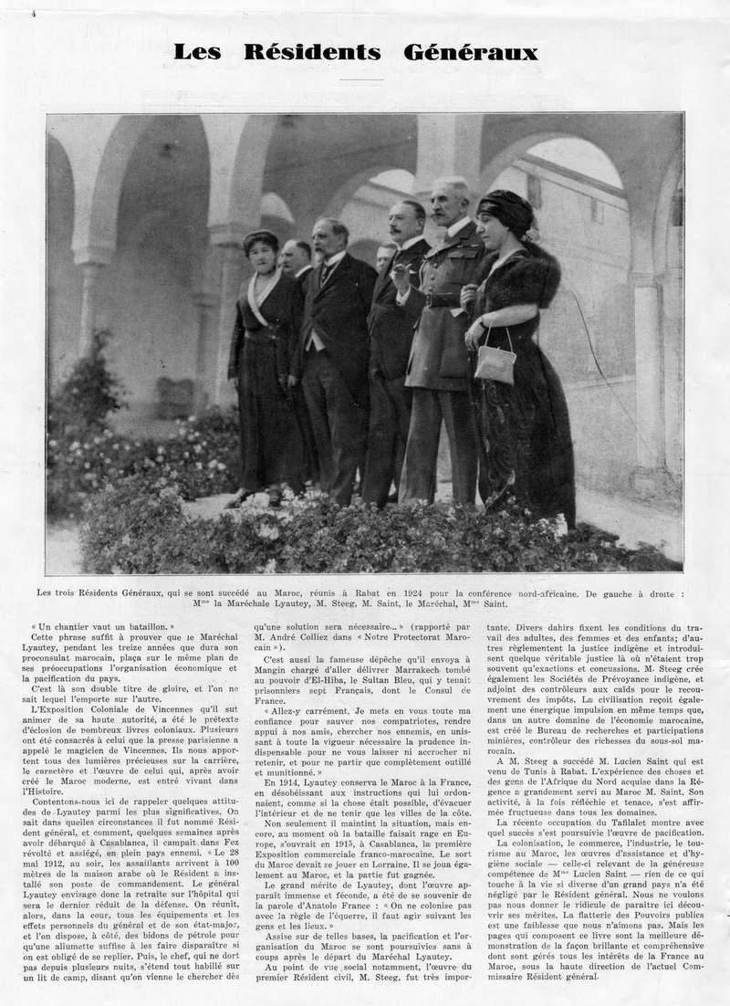 Le MAROC en 1932 05-410