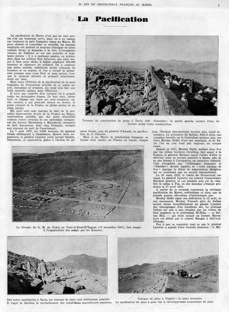 Le MAROC en 1932 08-710