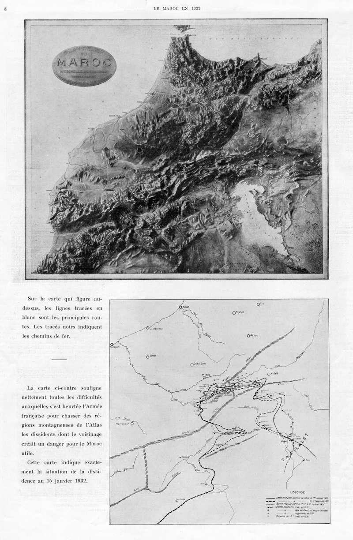 Le MAROC en 1932 09-810