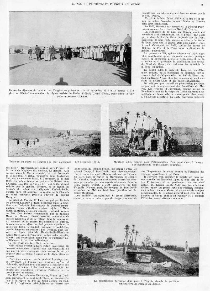 Le MAROC en 1932 10-910