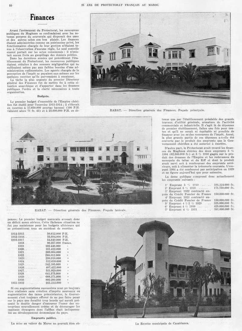 Le MAROC en 1932 11-1010