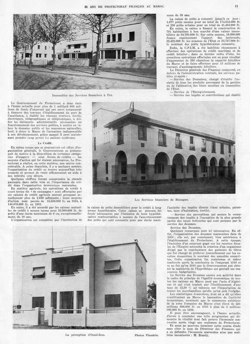 Le MAROC en 1932 12-1110