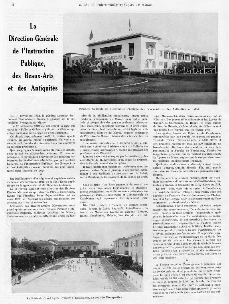 Le MAROC en 1932 13-1210