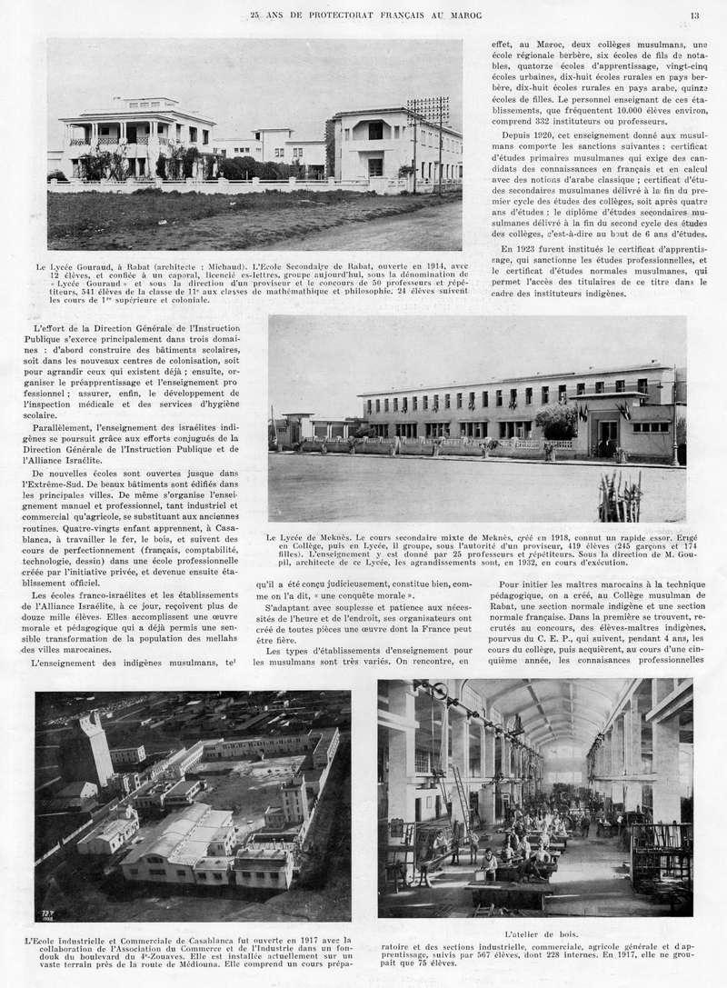 Le MAROC en 1932 14-1310