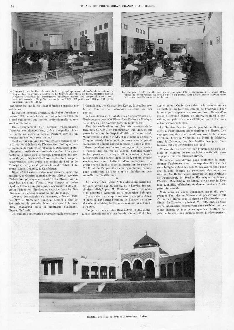 Le MAROC en 1932 15-1410