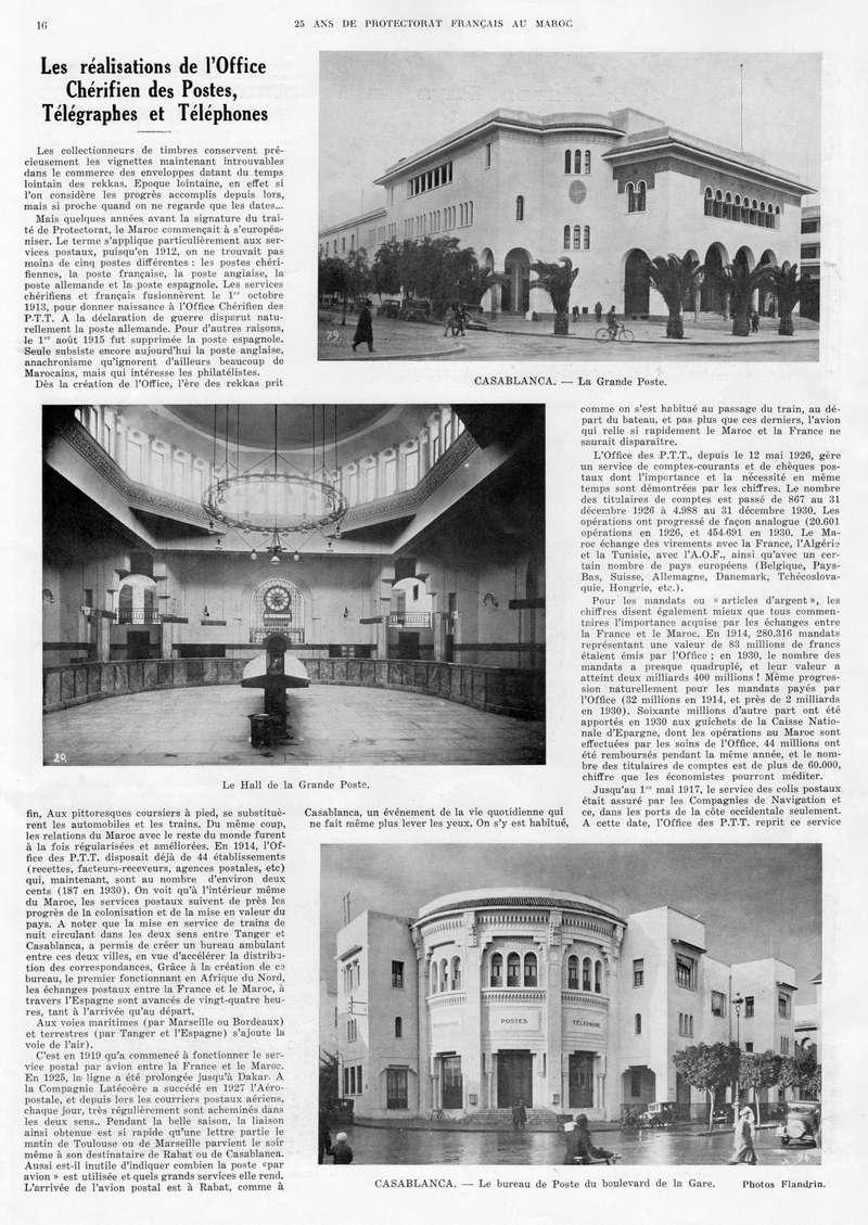 Le MAROC en 1932 17-1610