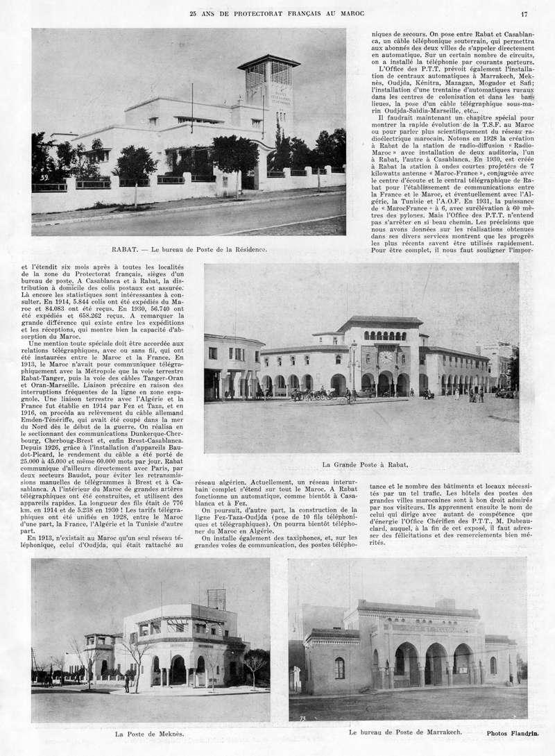 Le MAROC en 1932 18-1710