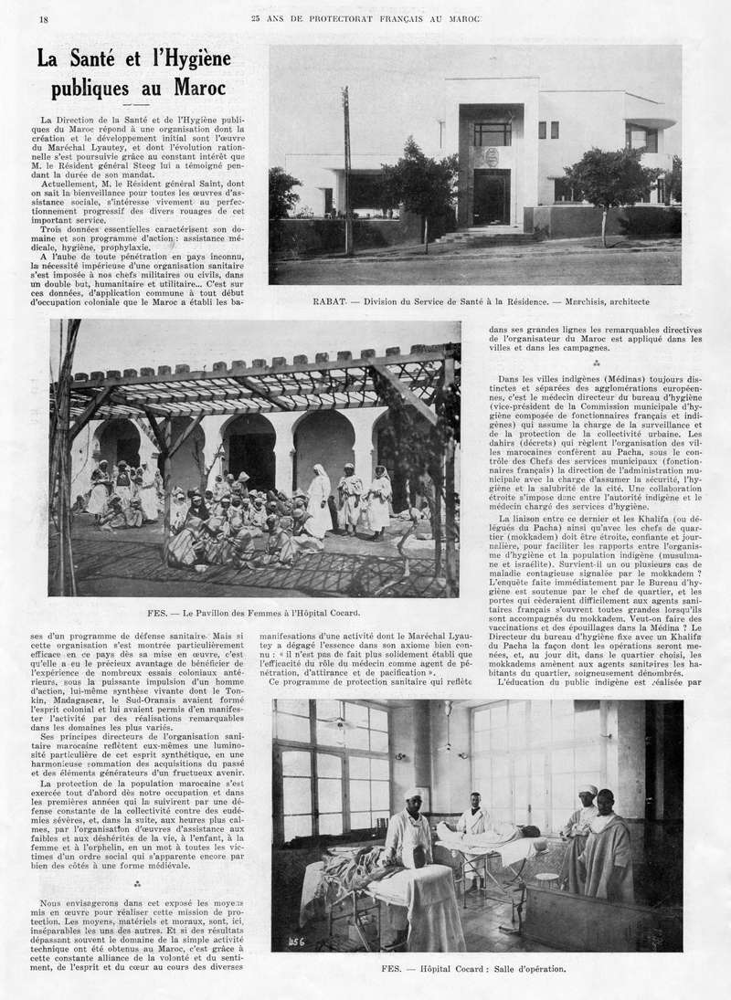 Le MAROC en 1932 19-1811