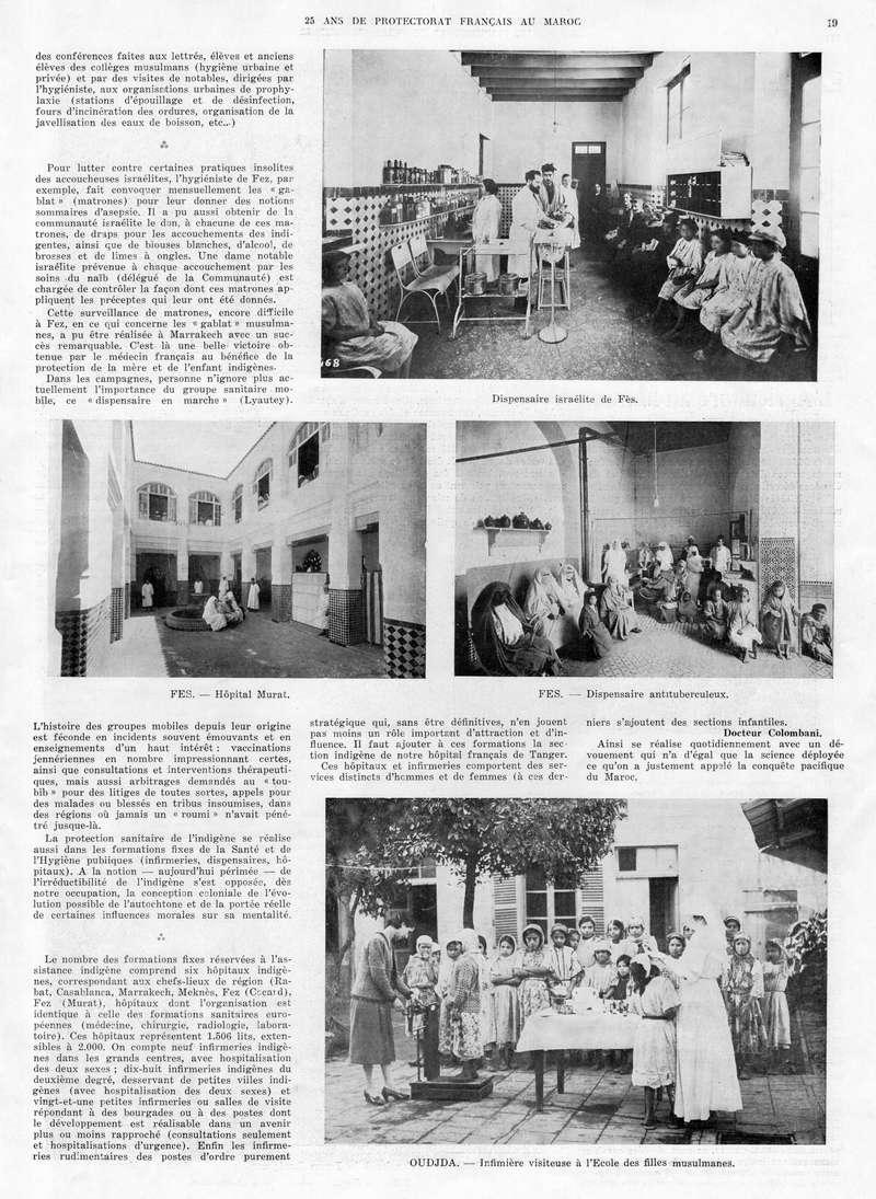 Le MAROC en 1932 20-1910
