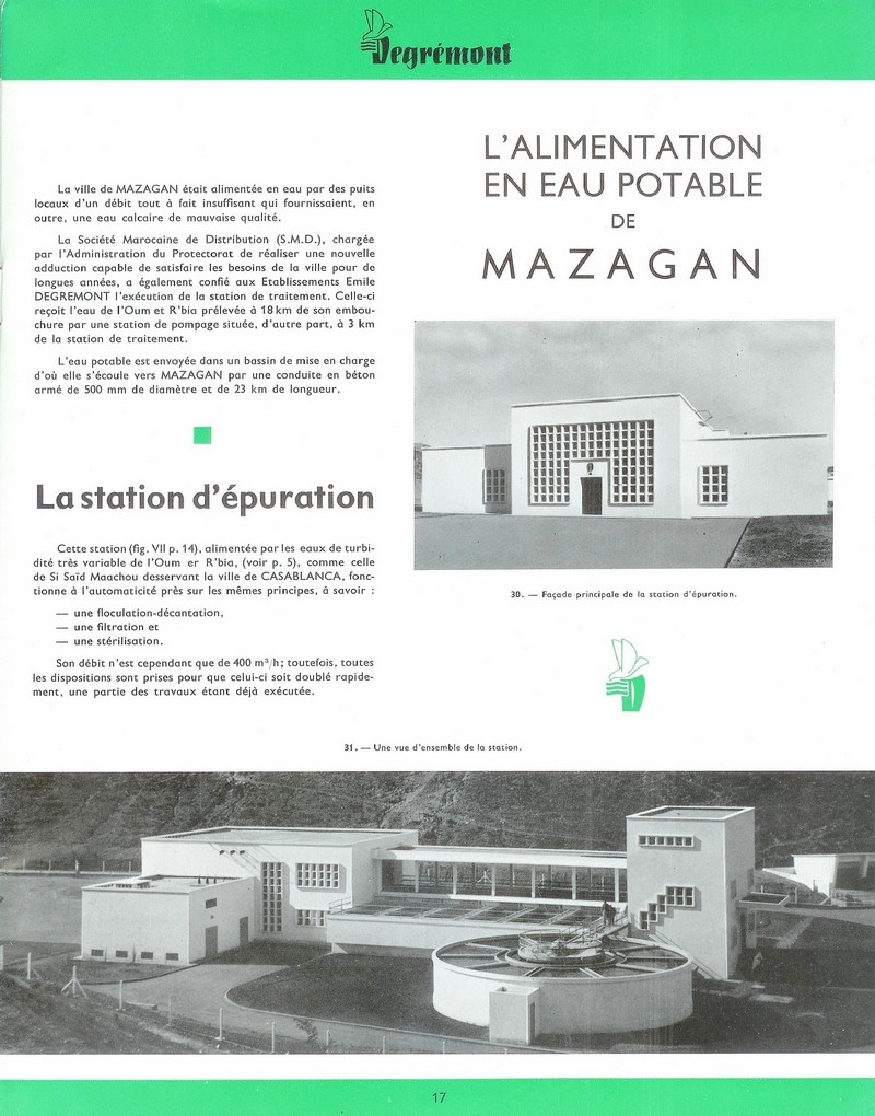 L'alimentation en eau potable ... 22-01711