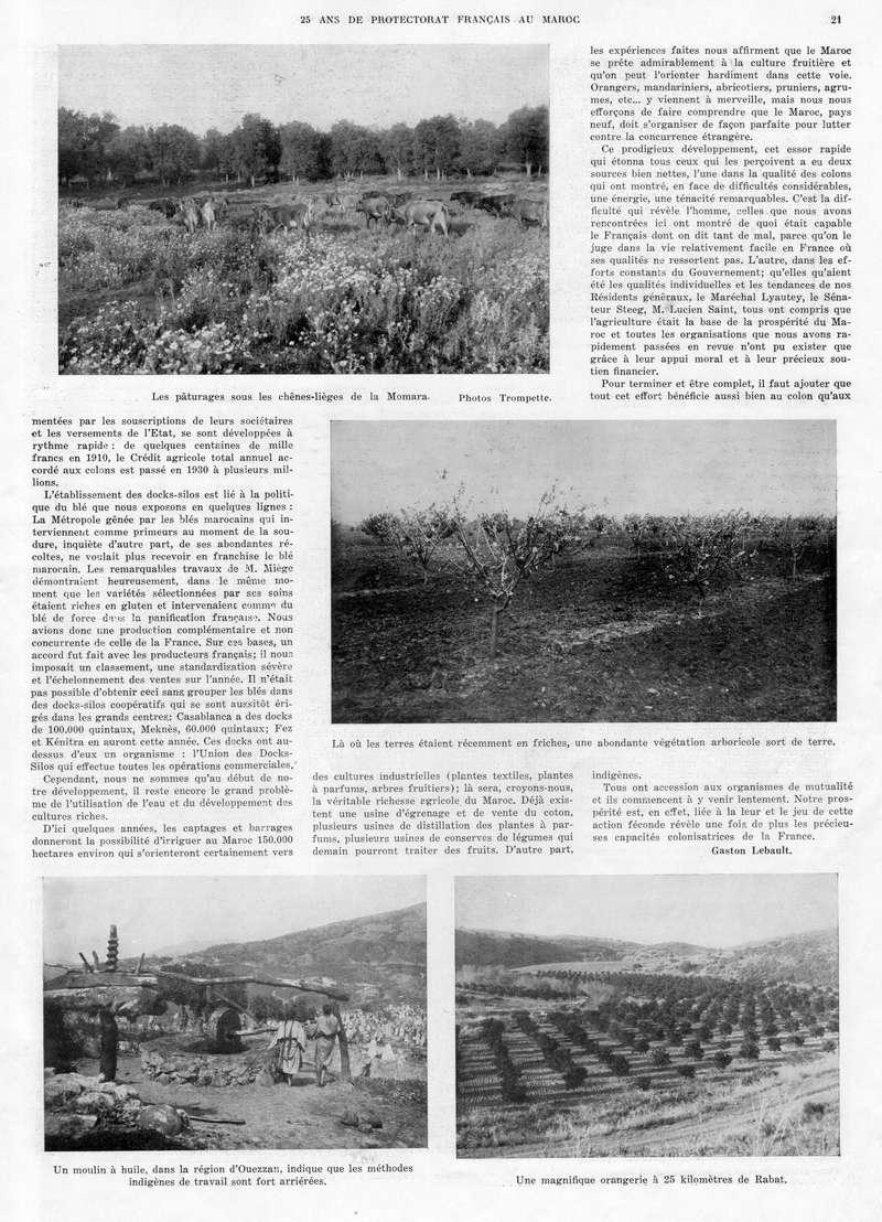 Le MAROC en 1932 22-2110