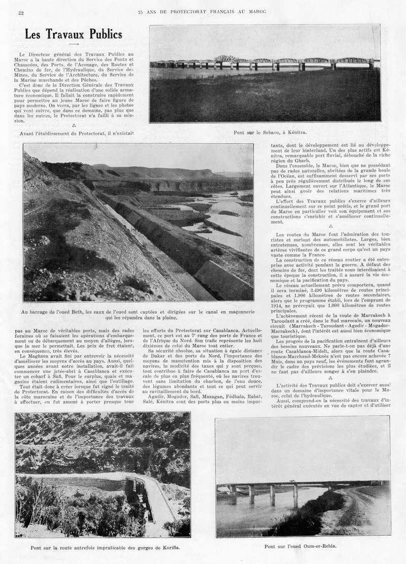 Le MAROC en 1932 23-2210