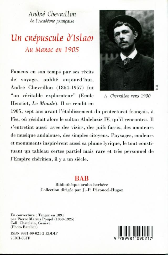 NOTES DE LECTURES - Page 3 Chevri11