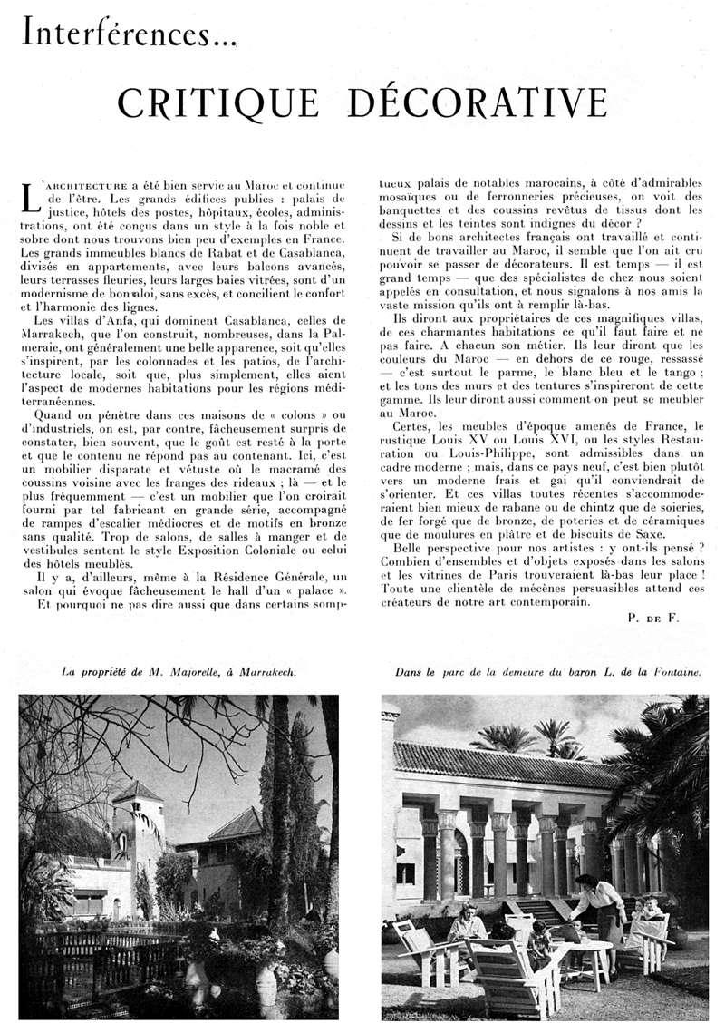 Plaisir de France spécial MAROC - Page 2 Critiq10
