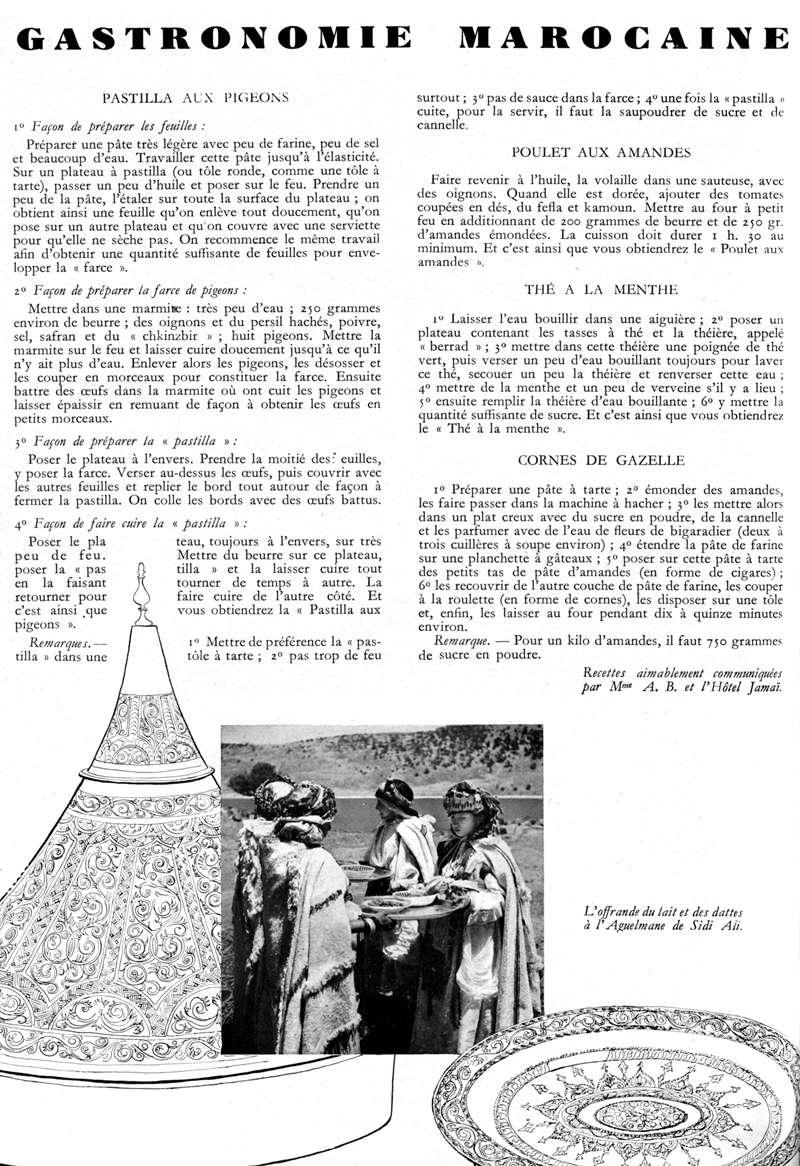 Plaisir de France spécial MAROC - Page 2 Gastro10