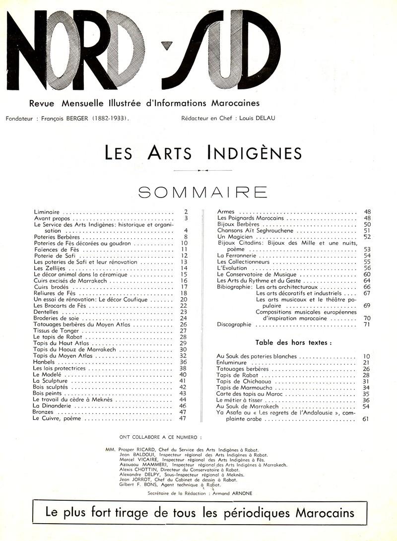 Les Arts Indigènes P110