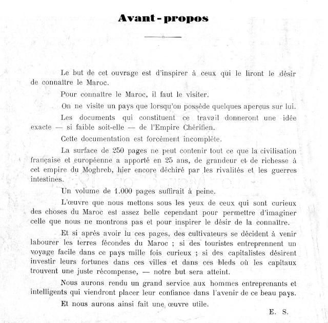 Le MAROC en 1932 P_02_b10