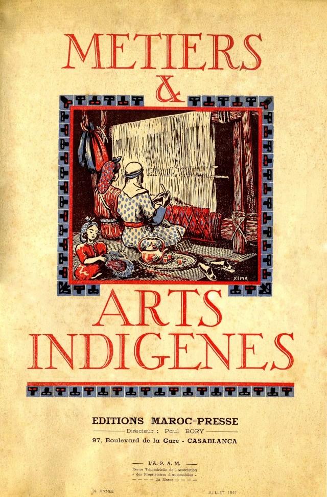 Métiers et Arts Indigènes P_couv11
