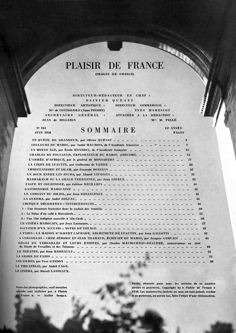 Plaisir de France spécial MAROC Plaisi11