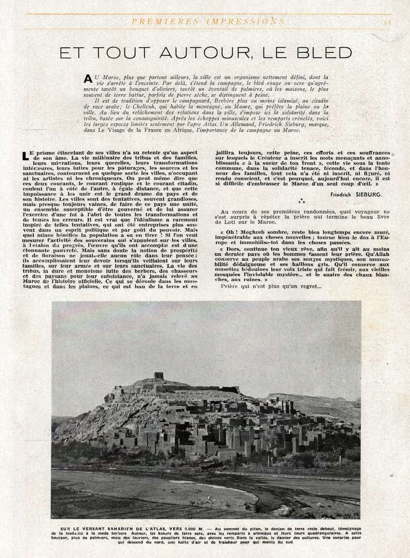 MAROC Terre d'Avenir Swsca197
