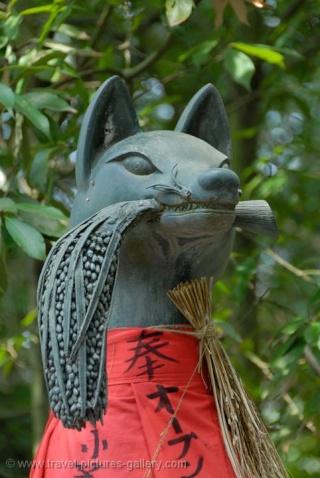 """Dossier Février-Mars 2015 : Inari - Kami (""""divinité"""") japonais Kyoto-11"""