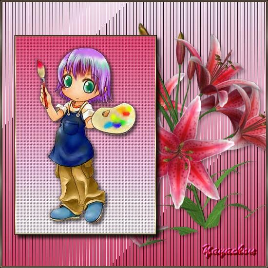 L'enfant au pinceau Yayatu10