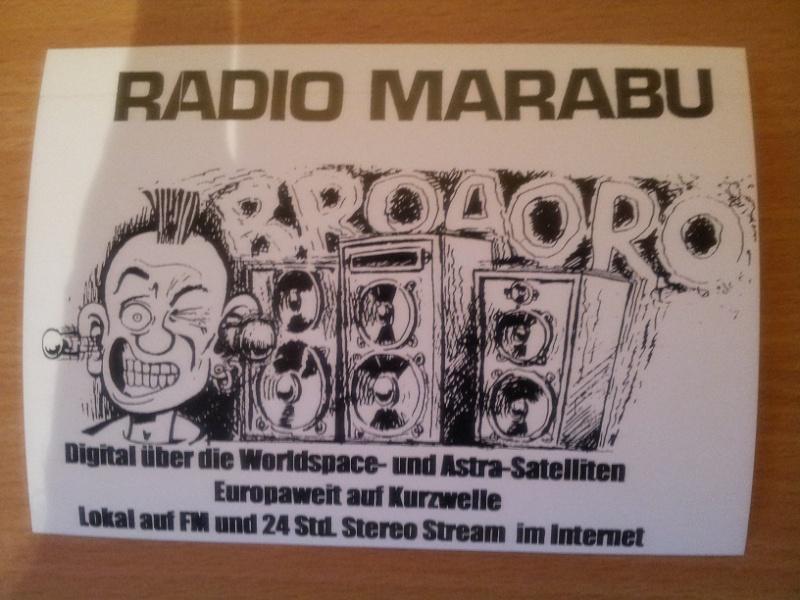 QSL de radio Marabu Marabu11