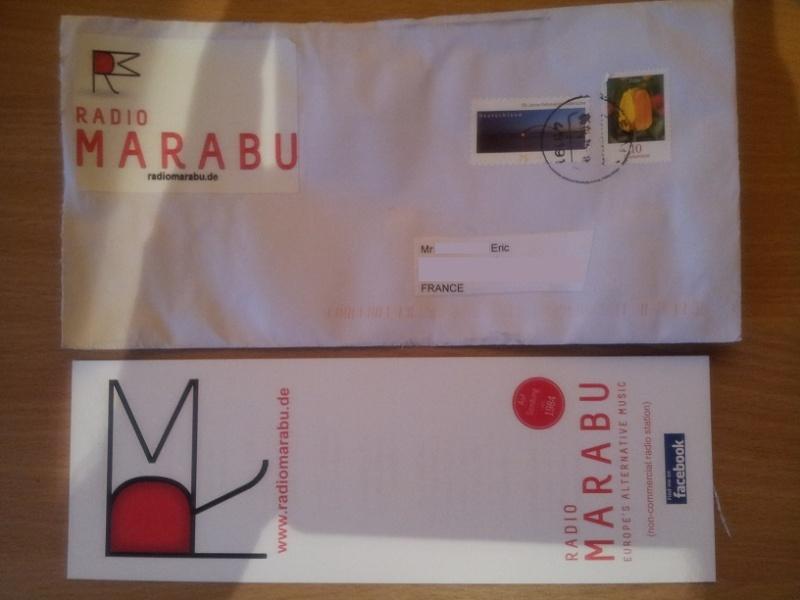 QSL de radio Marabu Marabu12