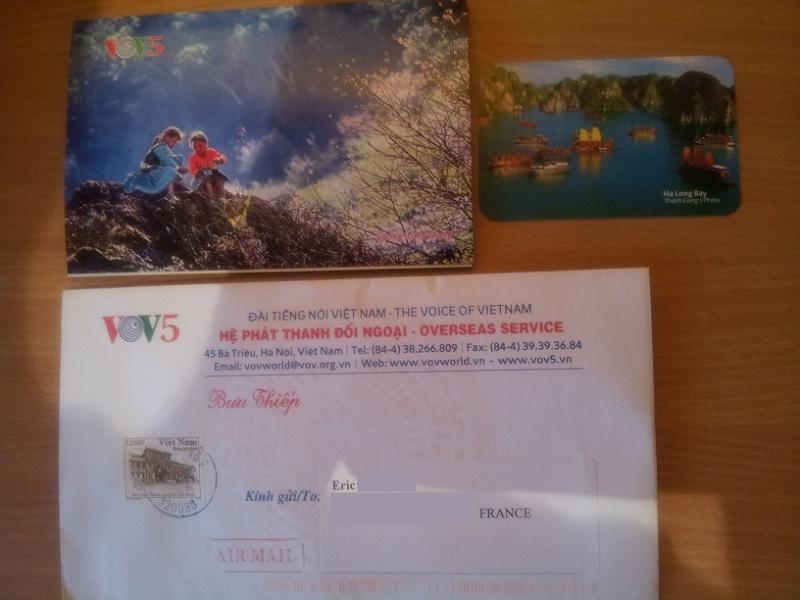 COURRIER DE VOV5 Vietnam Vov510