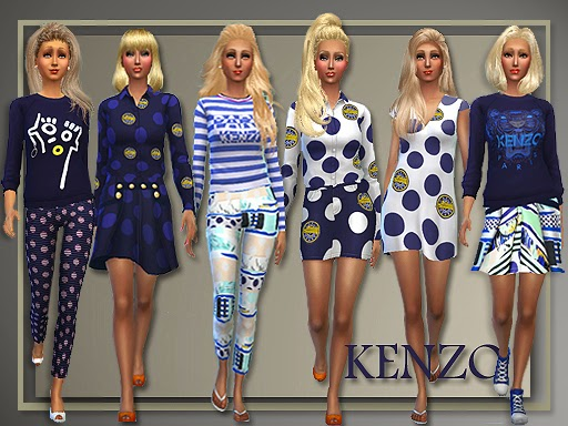 Kenzo Spring 2015 for Teen - Elder Females by Judie Family10