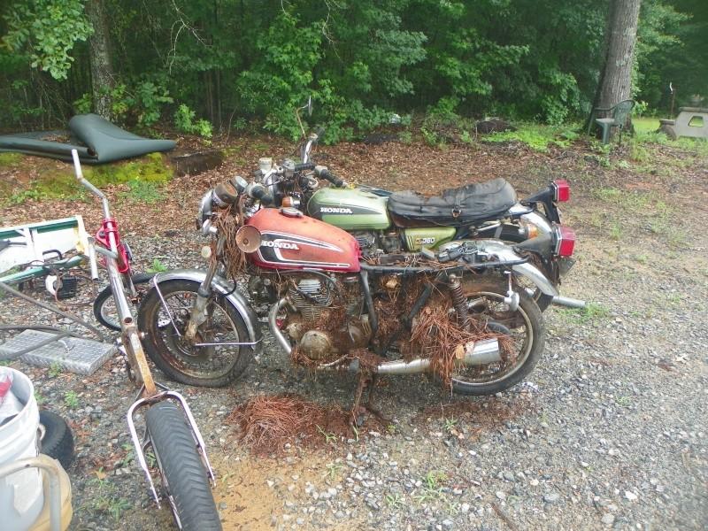 antique Honda restoration 00110