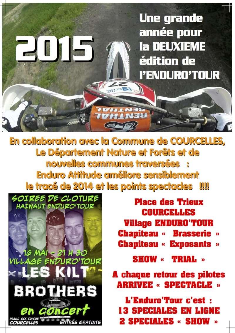 HAINAUT ENDURO'TOUR 2015 Flyers10