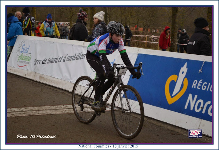 National UFOLEP cyclo cross Fourmi11