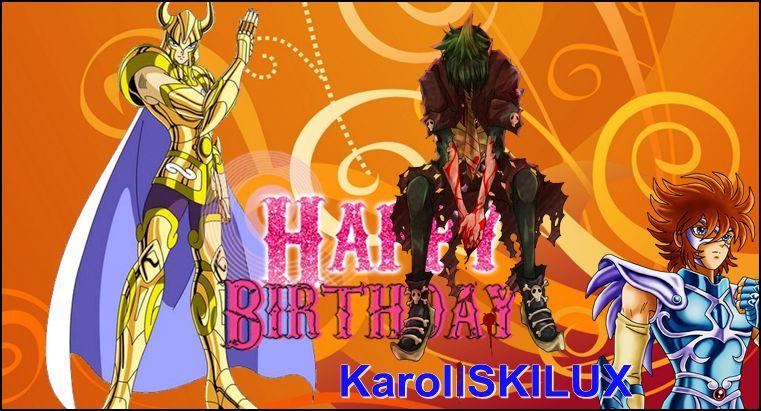 Feliz cumple Karoll y Killer. Karoll10