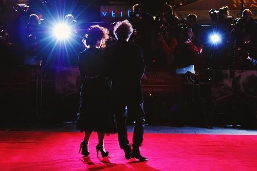 "Helena et Tim au "" London Film Festival "" Tumblr16"