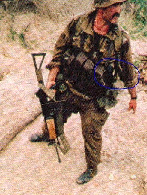 44 Para Brigade chest webbing P410