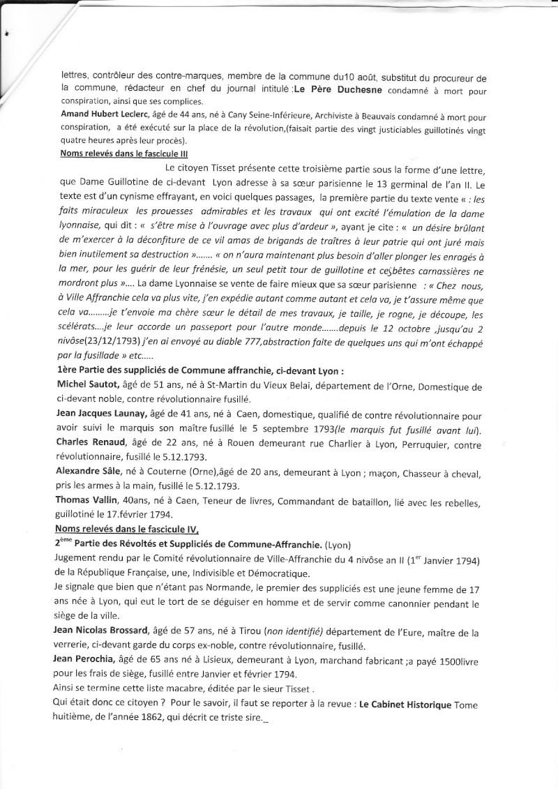 hebert - 1792 - Marseillaise, Augustin Normand, Francs-Maçons, Normands guillotinés ... Img_no23