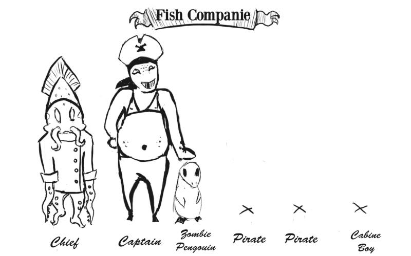 Jeu de Chara Design - Compléter la famille Fishco10