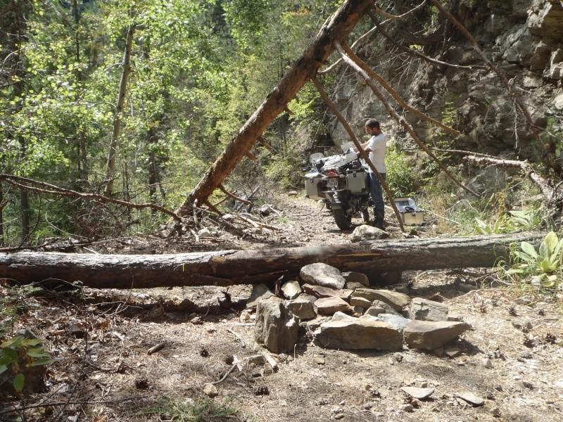 Pneu pour voyageur en gros trail P9100211
