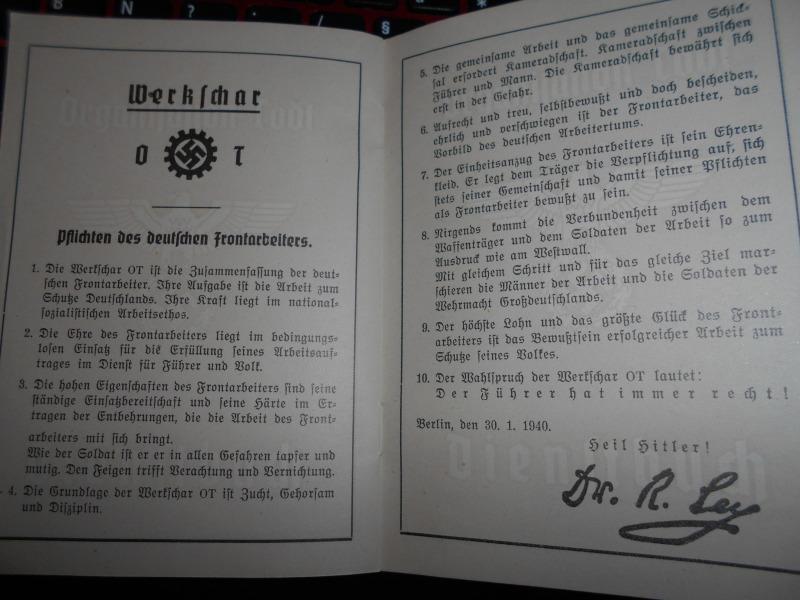 Traduction d'un livret de l organisation todt Livret18